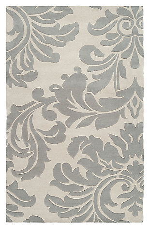 Home Accents Athena Paisley 5' x 8' Area Rug, , large