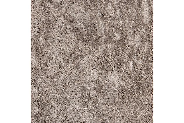 Atlantic Shag 5' x 8' Area Rug, Black/Gray, large