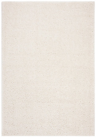 "August Shag 5'3"" x 7'6"" Area Rug, White, large"