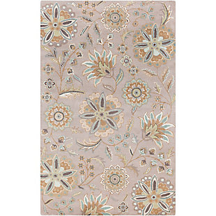 Home Accents Athena Flower 5' x 8' Area Rug, , rollover