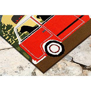 Home Accents Deckside 2' x 3' Ged Pups Indoor/Outdoor Doormat, , large