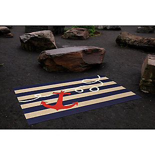 Home Accents Deckside 2' x 3' Mainstay Indoor/Outdoor Doormat, , rollover