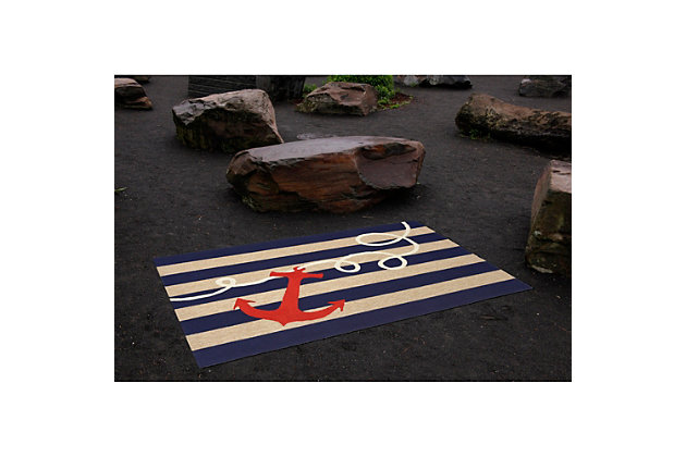 Home Accents Deckside 2' x 3' Mainstay Indoor/Outdoor Doormat, , large