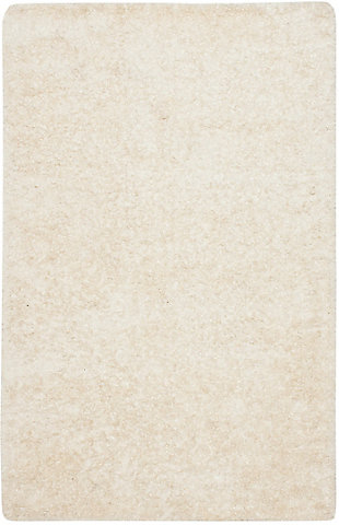 Madrid Shag 5' x 8' Area Rug, White, large