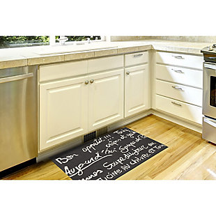 Home Accents Deckside 2' x 3' Parisian Tavern Indoor/Outdoor Doormat, , large