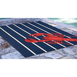 Home Accents Deckside 2' x 3' Pincer Indoor/Outdoor Doormat, , large