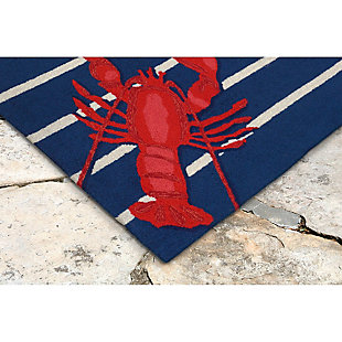 Home Accents Deckside 2' x 3' Pincer Indoor/Outdoor Doormat, , rollover