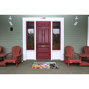 Home Accents Deckside 2' x 3' Pink Ladies Indoor/Outdoor Doormat, , rollover