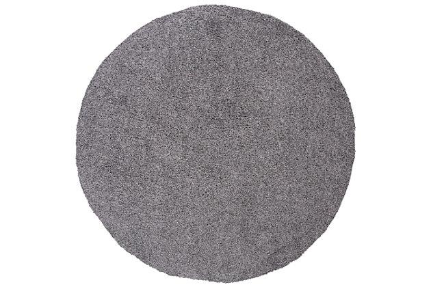 "Safavieh Primo Shag 6'7"" x 6'7"" Round Area Rug, , large"
