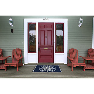 Home Accents Deckside 2' x 3' Pointer Indoor/Outdoor Doormat, , rollover