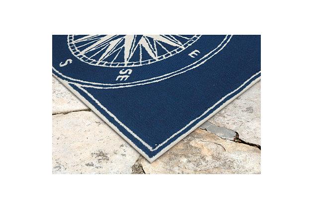 Home Accents Deckside 2' x 3' Pointer Indoor/Outdoor Doormat, , large