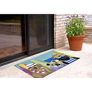 Home Accents Deckside 2' x 3' Sand Guards Indoor/Outdoor Doormat, , rollover