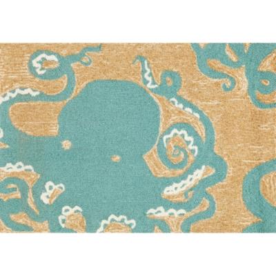 Home Accents Deckside 2' x 3' Sea Mollusk Indoor/Outdoor Doormat, , large