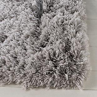 """Safavieh Polar Shag 5'1"""" x 7'6"""" Area Rug, Silver, large"""