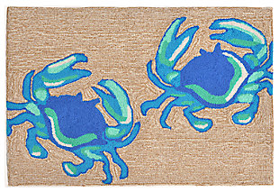 Home Accents Deckside 2' x 3' Soft-shell Indoor/Outdoor Doormat, , large