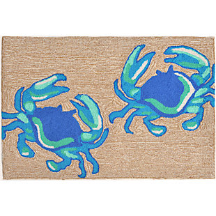 Home Accents Deckside 2' x 3' Soft-shell Indoor/Outdoor Doormat, , rollover