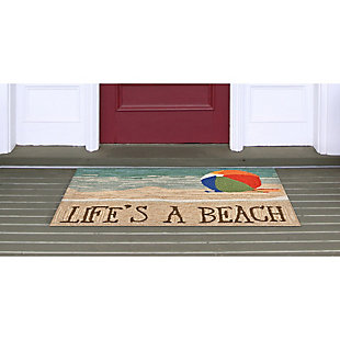 Home Accents Deckside 2' x 3' Summer Rays Indoor/Outdoor Doormat, , rollover