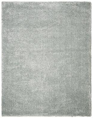 Safavieh Royal Shag 8' x 10' Area Rug, Silver, large