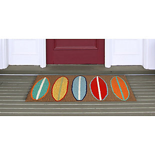 Home Accents Deckside 2' x 3' Wave Rider Indoor/Outdoor Doormat, , rollover