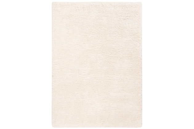 Safavieh Royal Shag 8' x 10' Area Rug, White, large