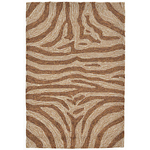 Home Accents Highlands 2' x 3' Safari Indoor/Outdoor Doormat, , large