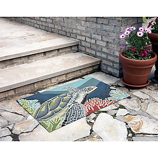 Home Accents Highlands 2' x 3' Slow Drift Indoor/Outdoor Doormat, , rollover