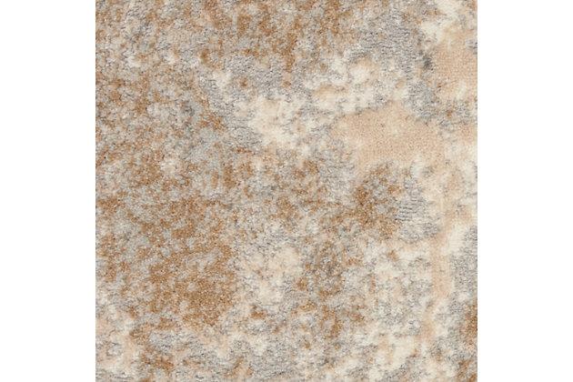 Nourison Home Decor Joli 5' X 7' Area Rug, Ivory Beige, large