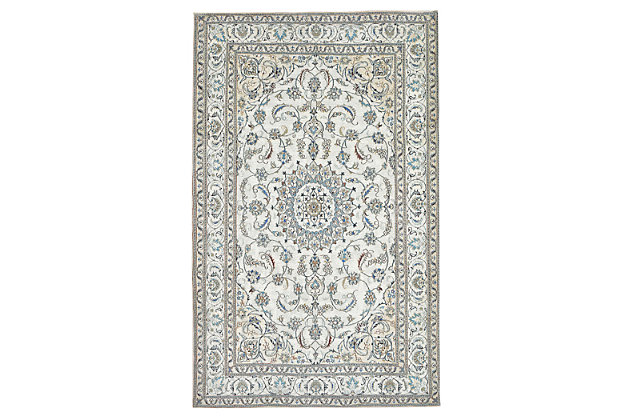 """Home Accents Sabrina Pure Rug 4'8"""" x 7'6"""", White, large"""