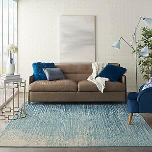 Nourison Passion 8' x 10' Navy Light Blue Area Rug, , rollover