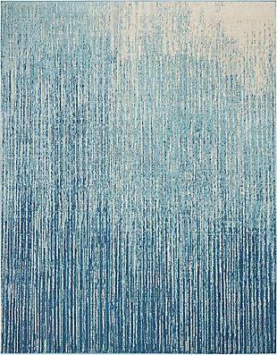 Nourison Passion 8' x 10' Navy Light Blue Area Rug, , large