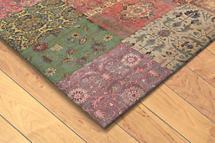 "Home Accents Sabrina Zagros Rug 4'8"" x 7'6"", Red, rollover"