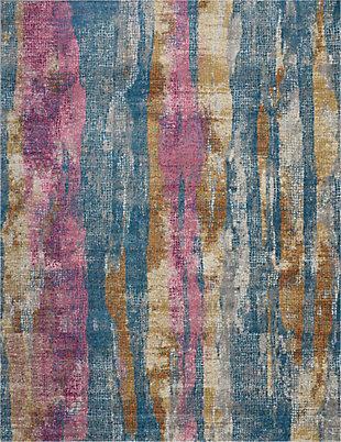 Nourison Passion Multicolor 8'x10' Large Rug, , large