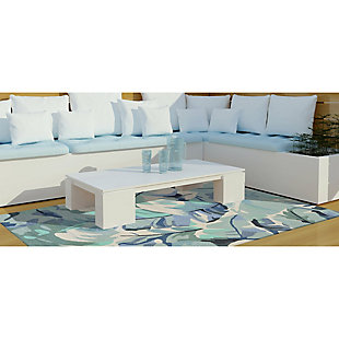 """Home Accents Fortina Palmyra Indoor/Outdoor Rug 5' x 7'6"""", , large"""