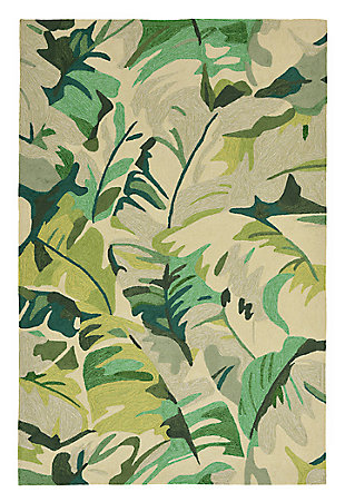 """Home Accents Fortina Palmyra 5' x 7'6"""" Indoor/Outdoor Rug, , large"""