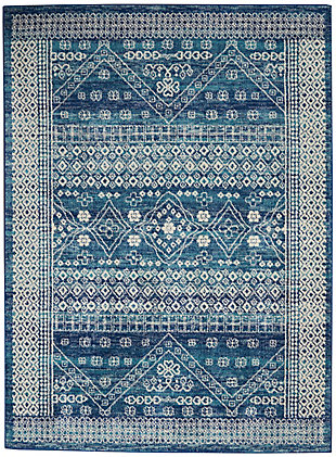 Nourison Passion 5' x 7' Area Rug, Navy Blue, large