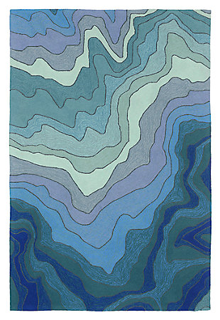 """Home Accents Highlands Sea Scape Indoor/Outdoor Rug 5' x 7'6"""", , large"""