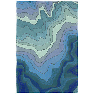 """Home Accents Highlands Sea Scape Indoor/Outdoor Rug 5' x 7'6"""", , rollover"""