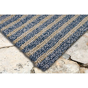 "Home Accents Facet Mini Stripe Indoor/Outdoor Rug 5' x 7'6"", , rollover"