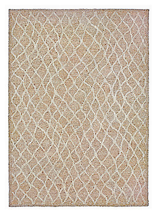 "Home Accents Facet Twirl Indoor/Outdoor Rug 5' x 7'6"", , large"