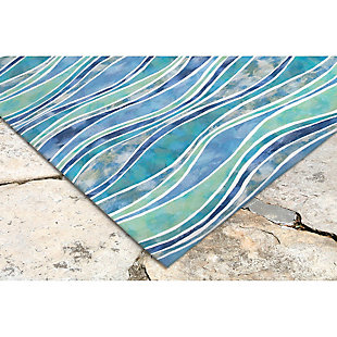 Home Accents Spectrum III Comber 5' x 8' Indoor/Outdoor Rug, , rollover