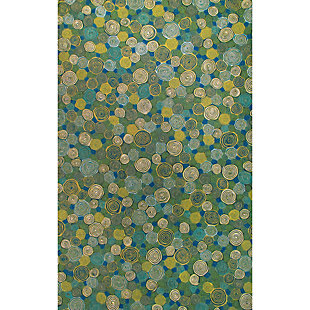 Home Accents Spectrum III Murano Dot 5' x 8' Indoor/Outdoor Rug, , rollover