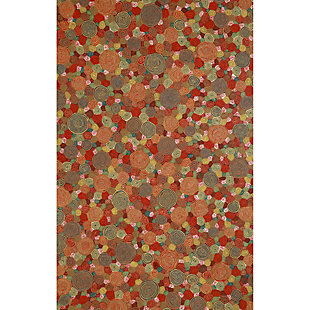 Home Accents Spectrum III Murano Dot 5' x 8' Indoor/Outdoor Rug, , large