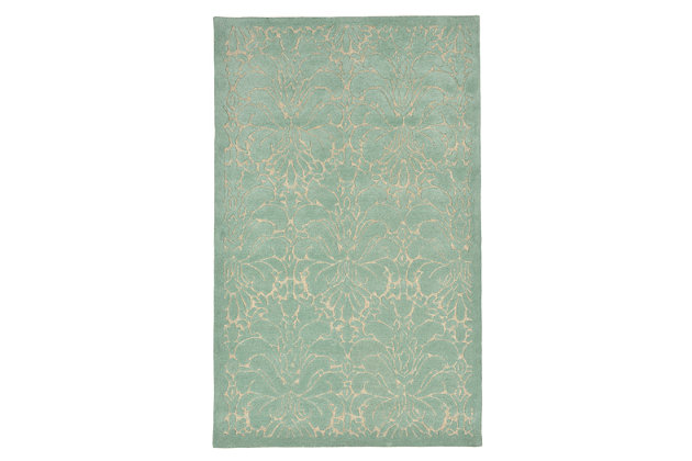 Home Accents Cordoba Tiole Rug 5' x 8', Green, large
