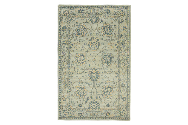 Home Accents Prana Aden Rug 5' x 8', Blue, large