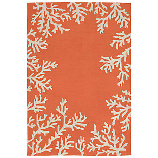 """Home Accents Fortina Beach Border Indoor/Outdoor Rug 7'6"""" x 9'6"""", , large"""
