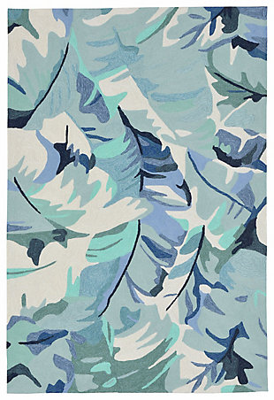 """Home Accents Fortina Palmyra Indoor/Outdoor Rug 7'6"""" x 9'6"""", , rollover"""