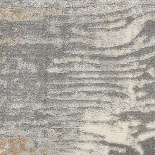 Nourison Solace 5' X 7' Area Rug, Gray/Beige, large