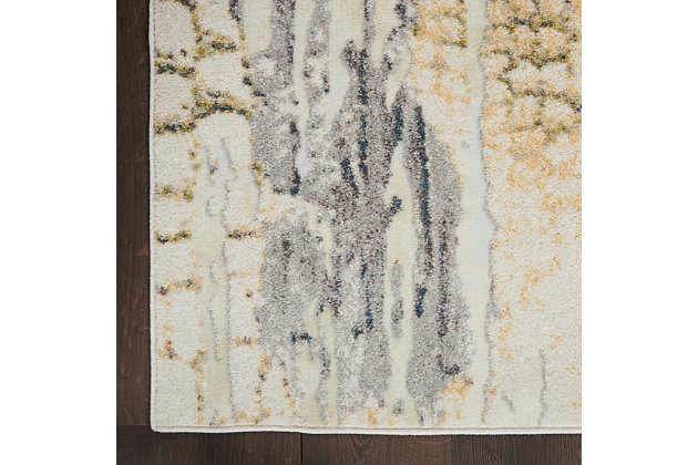 Nourison Trance 5' X 7' Area Rug, Ivory/Multi, large