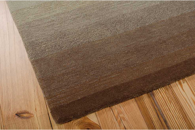 """Home Accents Contour Nature 3'6"""" x 5'6"""" Area Rug, Green, large"""