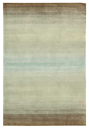 "Home Accents Contour Nature 7'3"" x 9'3"" Area Rug, Green, large"